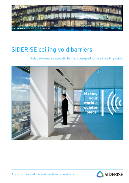 Ceiling Void Barriers