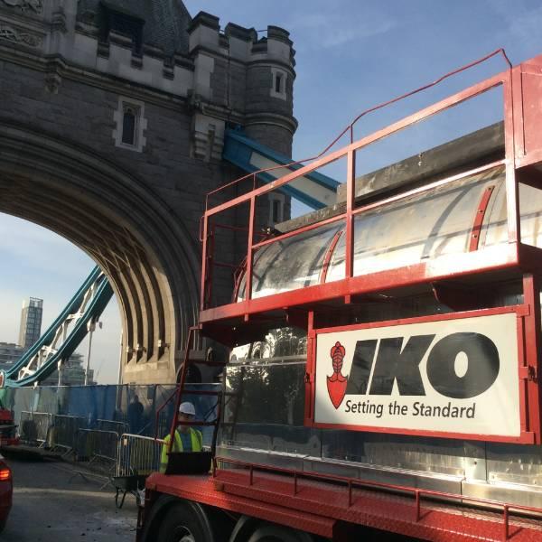 IKO Permatrack Bridge Surfacing Saves Tower Bridge