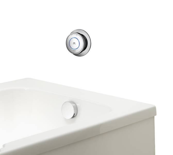 Quartz Classic Smart bath with overflow filler - HP