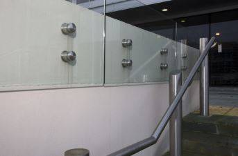 ASF Adaptations Glass Balustrade