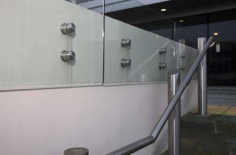 ASF Adaptations Glass Balustrade