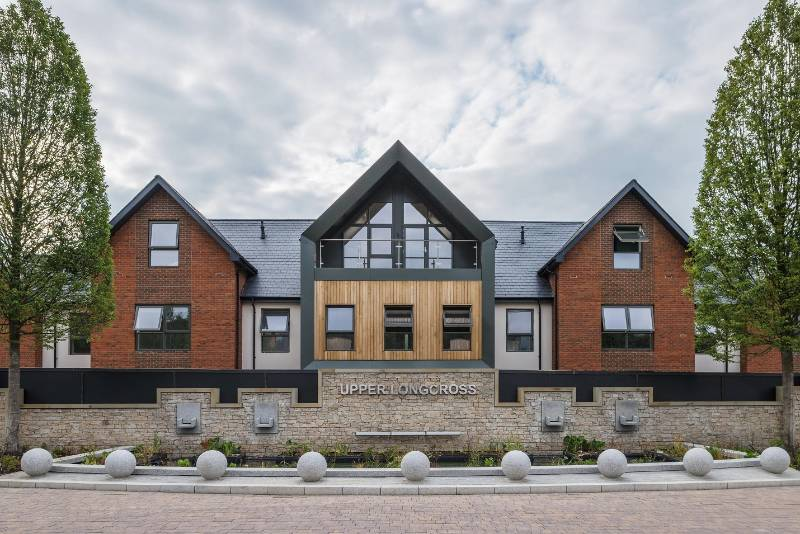 Natural slate brings heritage feel to new garden village
