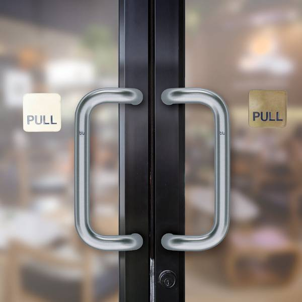 BLU™ - HAB21 Offset 'D' Commercial Pull Handle