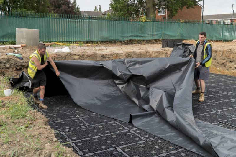 StormCrate is a Runaway Solution at Coventry Housing Development