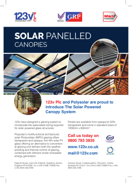 Solar Panelled