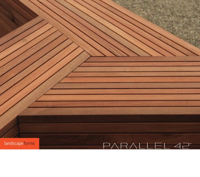 Landscape Forms Parallel 42 Bench System