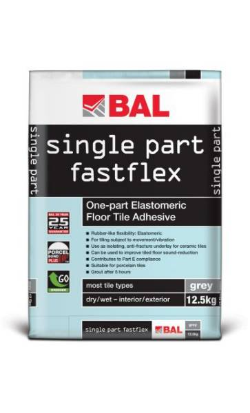 Single Part Fastflex - Tile adhesive