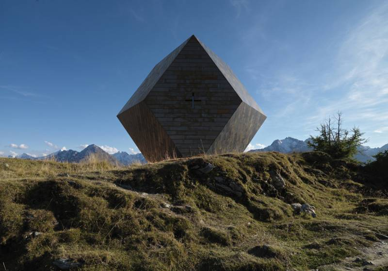 Rhepanol fk protects Garnet Chapel by Mario Botta