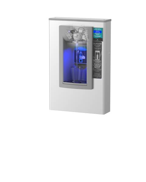 PWSMEBQYHands-Free Wall Mounted Bottle Filler With QUASAR UV Out
