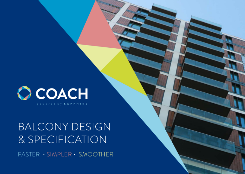 Balcony Design & Specification Tool - COACH - Overview