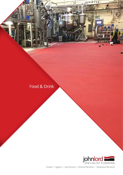 Resin Flooring for Food Industries