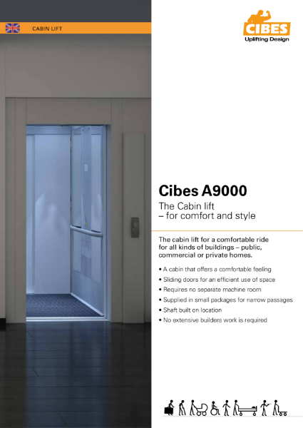 A9000 Cabin style 630Kg Platform Lift