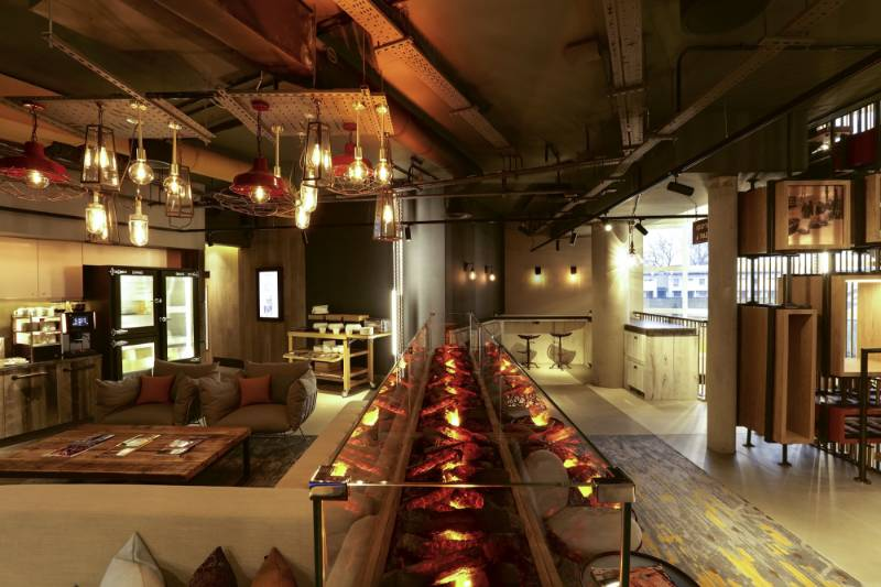 London's Coolest Hotel Warms Up With Dimplex Opti-myst® Technology