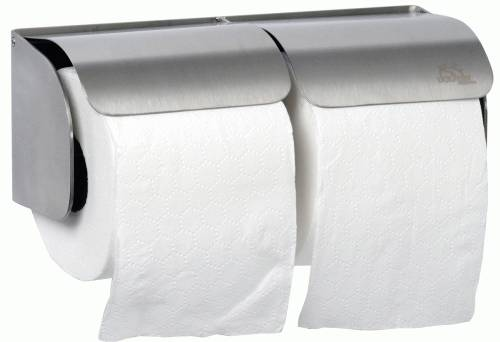 BC 268 Dolphin Stainless Steel Toilet Roll Holder