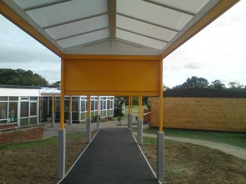 Thundersley Primary School - Walkway Canopy