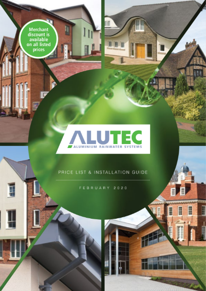 Alutec Price List and Installation Guide February 2020