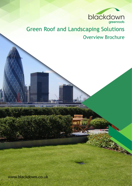 Blackdown greenroofs - Green Roof and Landscaping Solution Overview Brochure