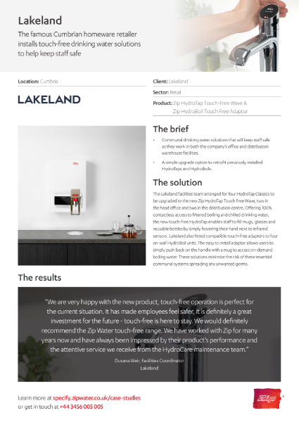 Lakeland Case Study