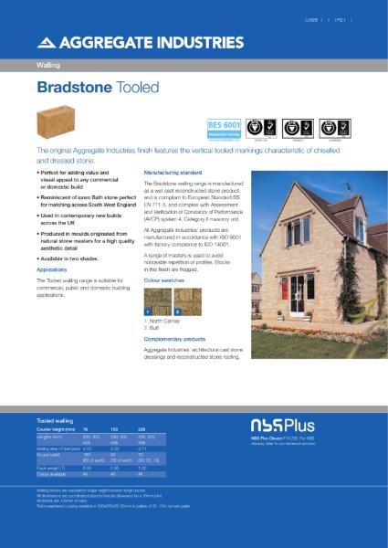 Bradstone Tooled Walling