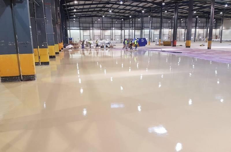 Sustainable Flooring Success at Royal Mail Depot