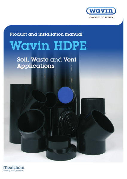 Wavin HDPE product and installation manual
