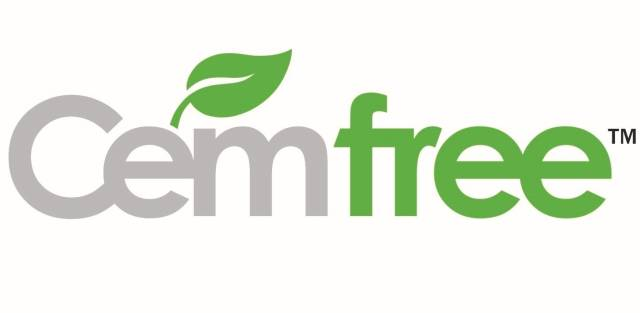 Cemfree Ultra-Low Carbon Concrete