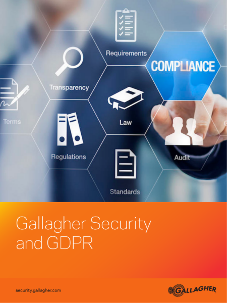 Gallagher Security access control and GDPR