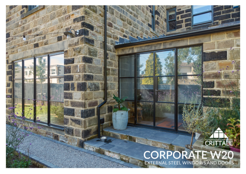 Homeowner Corporate W20 External Windows & Doors Brochure