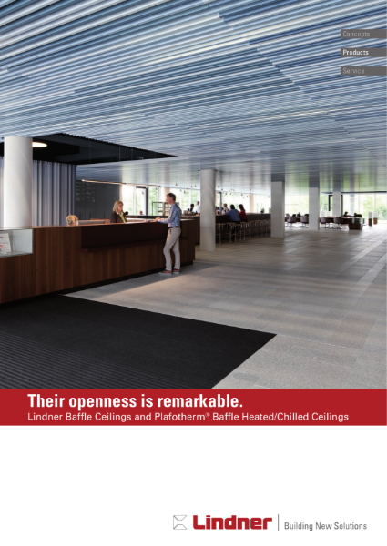 Lindner Baffle Ceilings and Plafotherm® Baffle Heated and Chilled Ceilings.pdf