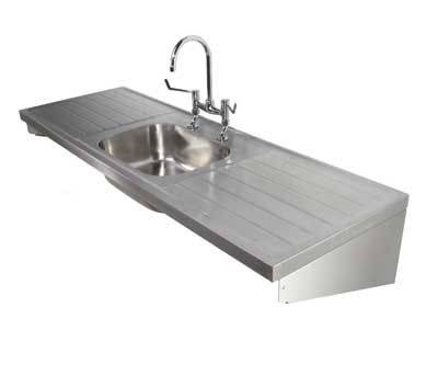Stainless Steel Sink and Double Drainers
