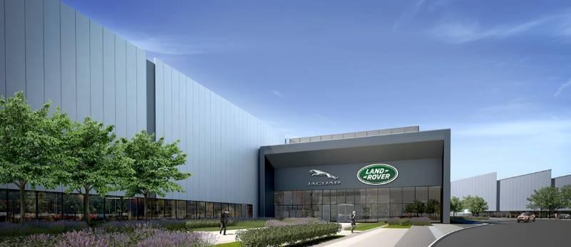 Jaguar Land Rover i54 Manufacturing Plant