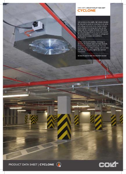Cyclone induction jet fan