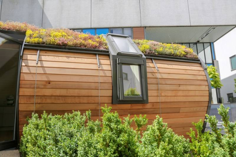 Triple Glazed Combination Roof Window - Colchester Hospital