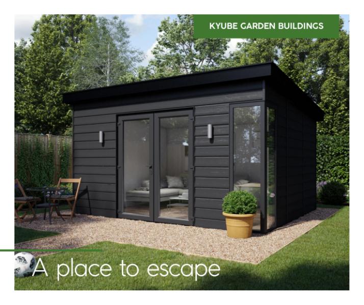 Garden Buildings Consumer Brochure