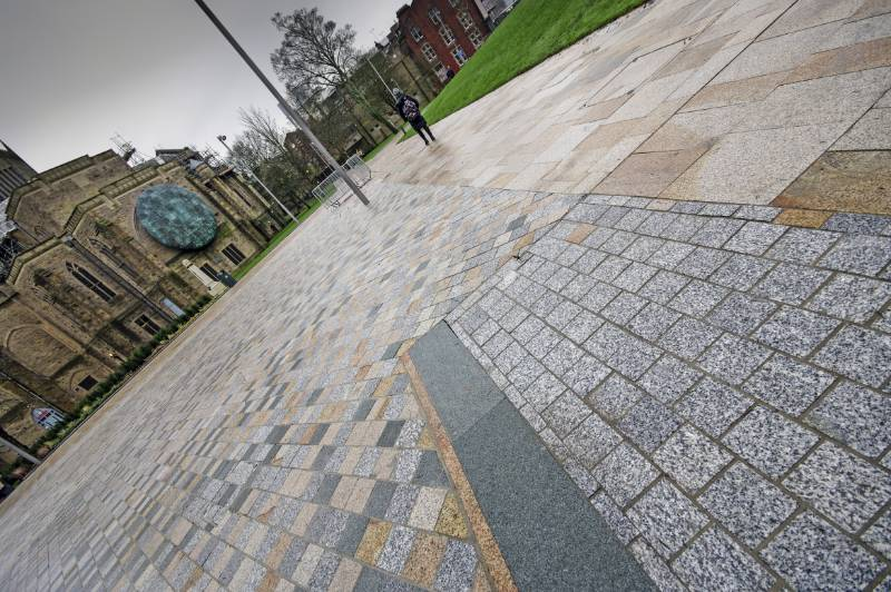 BLACKBURN CATHEDRAL QUARTER – VIBRANT OPEN SPACES IN THE TOWN CENTRE