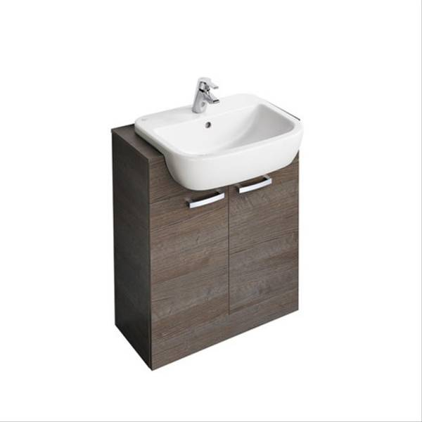 Tempo 650 mm Semi-Countertop Basin Unit