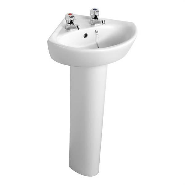 Sandringham 21 Corner Washbasin