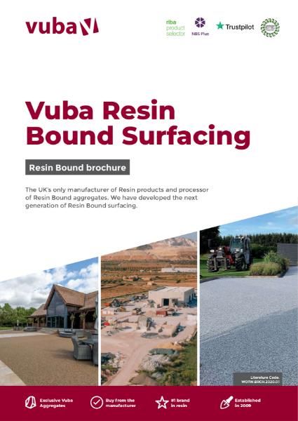 Vuba Resin Bound Catalogue