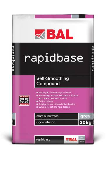 Rapidbase - Self-smoothing compound