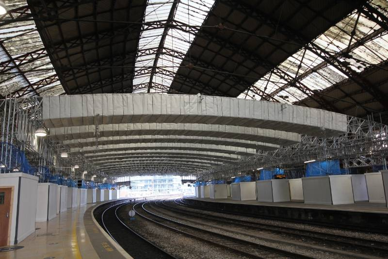 TEMPLE MEADS ROOF REFURBISHMENT WORK PROTECTED BY FIREFLY FIRE BARRIER