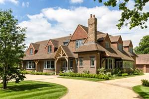 Wooden High Performance Casement Windows, French doors and Entrance doors, Woking, Surrey