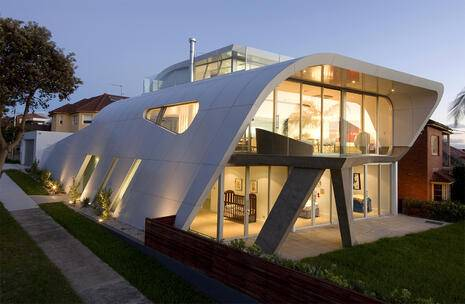 Moebius House, Dover Heights, NSW