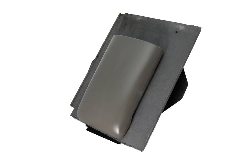 8.8k Thruvent Richmond 10 Slate - Vent tile