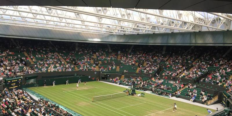 BioClad Specified at Wimbledon