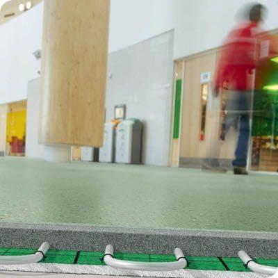 Isowarm Tackerboard System - Isocrete Alpha Screed (Ground Floor)