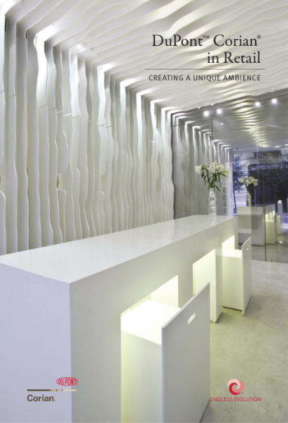 DuPont Corian in Retail Environments
