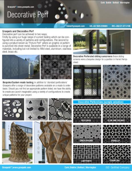 Decorative Metal at aGlance