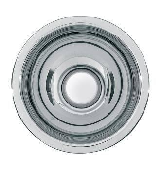 Rondo inset washbasins without overflow 35 mm