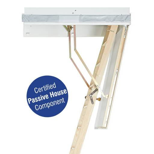 Passive House certified loft ladder