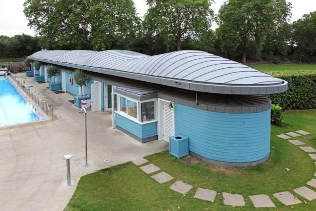 Zinc Standing Seam Roof System